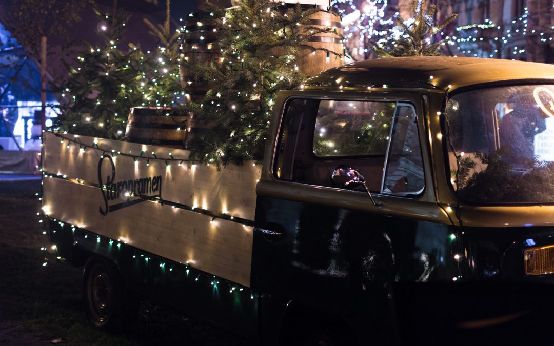 Holiday Lights in Colorado Springs